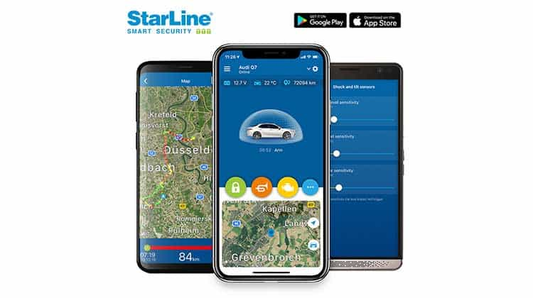 StarLine Smart Security - Fahrzeugortung