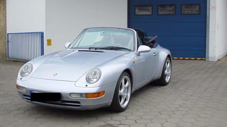 Car HiFi Porsche Cabrio Einbaubeispiel Sound System -Finsterwalder - Car HiFi-Hamburg