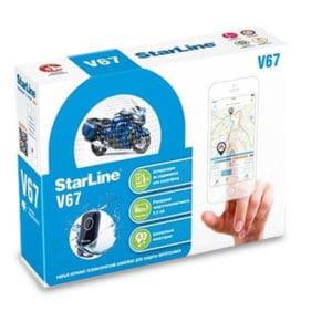 StarLine Motorrad Alarmanlage v67