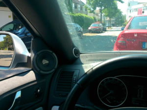 Auto HiFi Einbaubeispiel im Skoda Oktavia