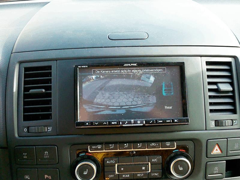 Auto HiFi Einbaubeispiel im VW T5 Pan Americana