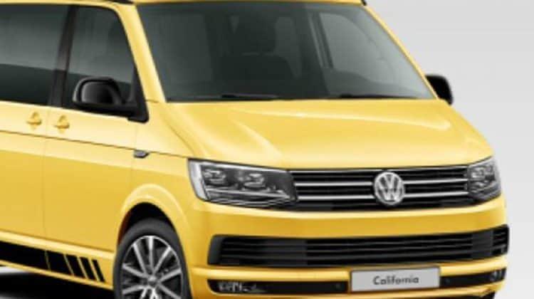 VW Califonia T6 Car-HiFi Autoradio Einbaubeispiel