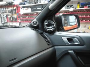 Car HiFi Einbaubeispiel im Ford Ranger Wildtrak