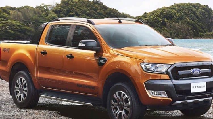 Ford Ranger Wildtrak Car-HiFi Autoradio Einbaubeispiel
