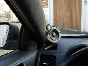 Auto HiFi Einbaubeispiel im Mitsubishi Lancer
