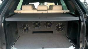 Eton HiFi Einbaubeispiel im BMW X5