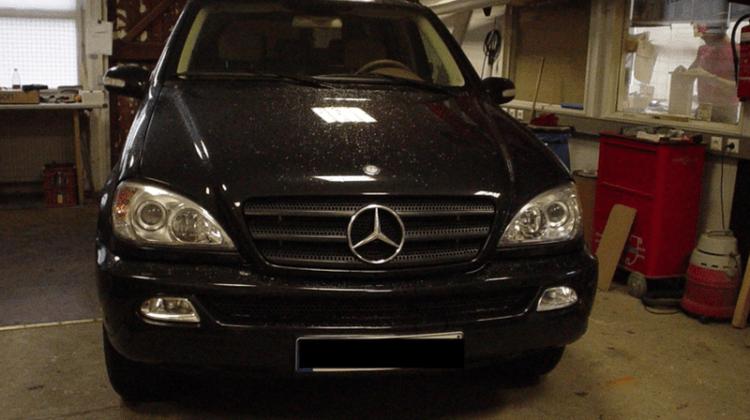 Mercedes Benz M Car-HiFi Einbaubeispiel von Finsterwalder Elektronik