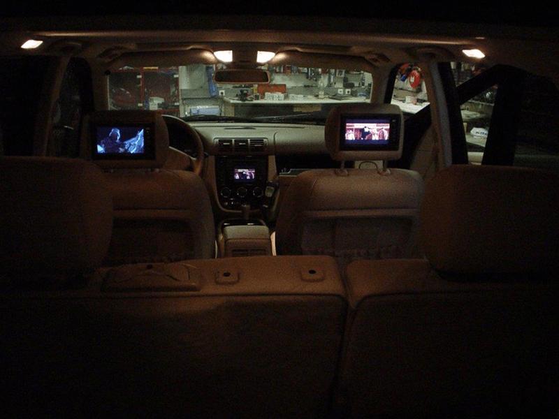 Car HiFi Einbaubeispiel im Mercedes Benz M-Klasse