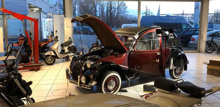 Car-HiFi Einbaubeispiek