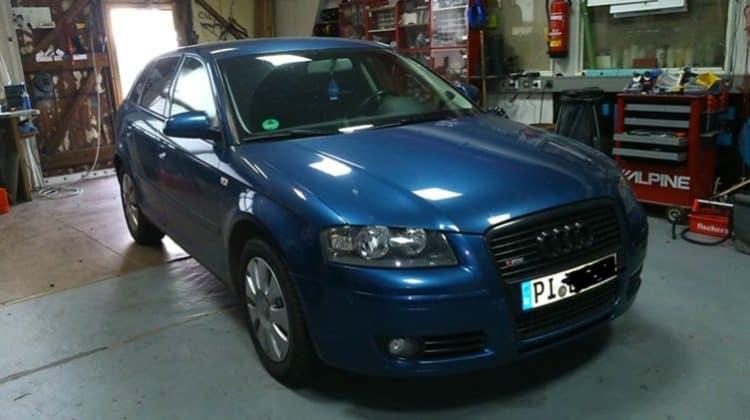 Audi A3 Car-HiFi Einbaubeispiel Autoradio