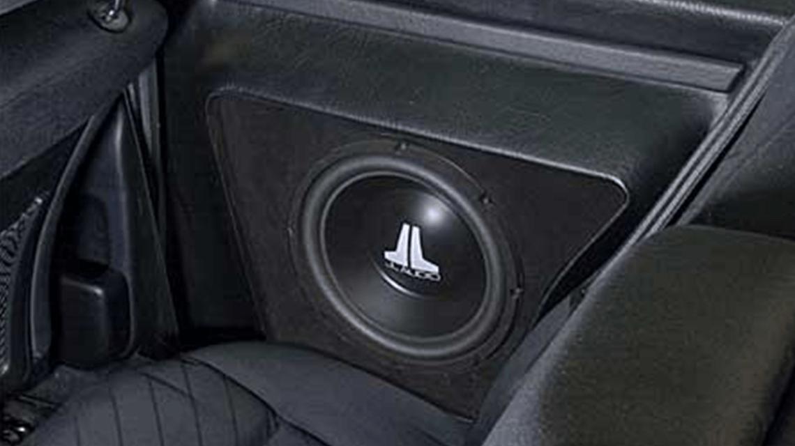 Ampire HiFi Einbaubeispiel im Audi Coupe
